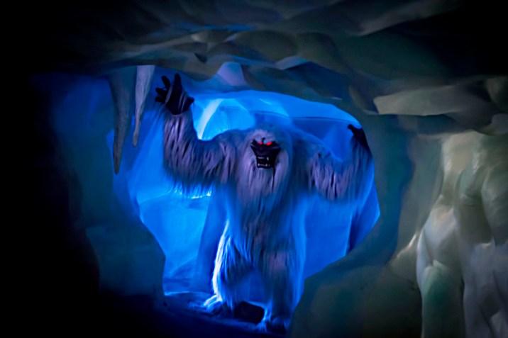 Disneyland Abominable Snowman Matterhorn Bobsleds