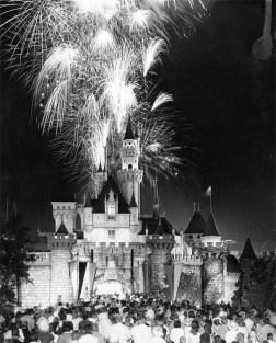 Disneyland Fireworks 1