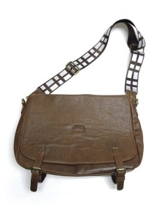 Star Wars Chewbacca Faux Leather Messenger Bag - Comic Images