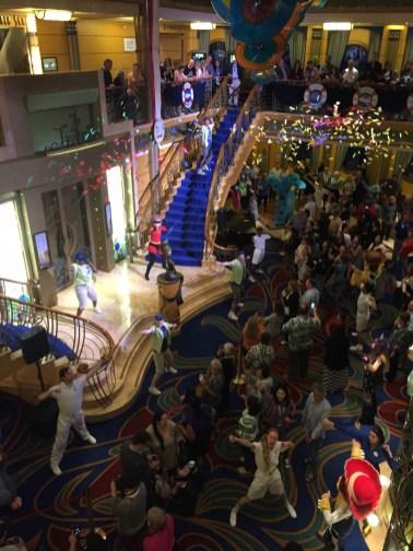 Disney Cruise Review Disneyexaminer Character Dance Parties