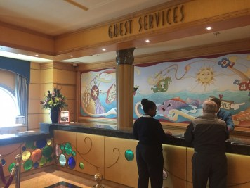 Disney Cruise Review Disneyexaminer Guest Services Desk