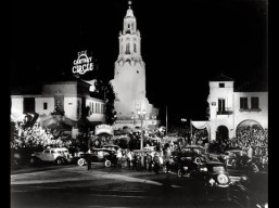 Carthay Circle the night of the premiere.