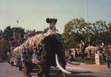 Disneyland Parade History Circus Fantasy