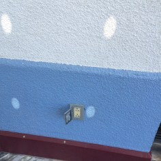 Closer view of outlet