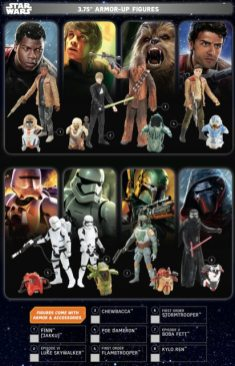 Star Wars Force Friday Armor Up Figures