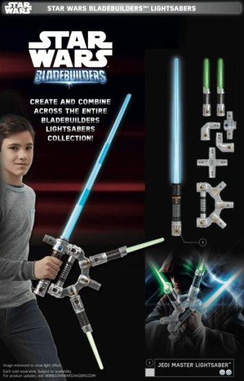 Star Wars Force Friday Bladebuilders Lightsabers 1