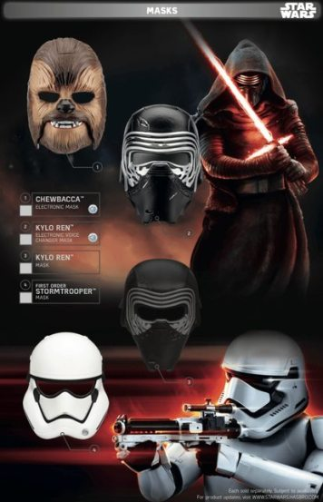 Star Wars Force Friday Masks