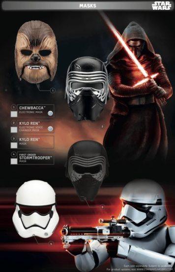 Star Wars Force Friday Masks