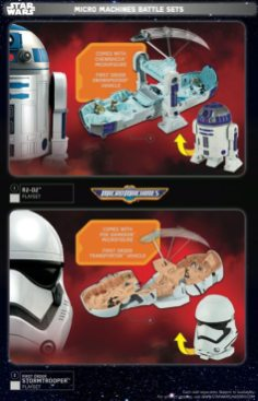 Star Wars Force Friday Micro Machines Battle Set