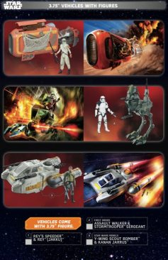 Star Wars Force Friday Vehicles With Figures 1