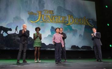 Jungle Book Live Action Walt Disney Studios Presentation 2015 D23 Expo