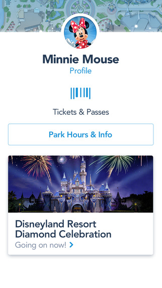 Official Disneyland App Tickets