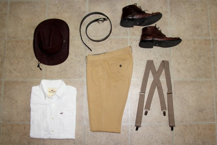 Indiana Jones Dapper Day Outfit