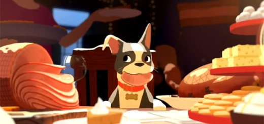 Disney Animation Feast Winston Dog Short Film Food