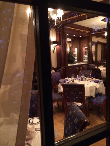 Old Club 33 Dining Room