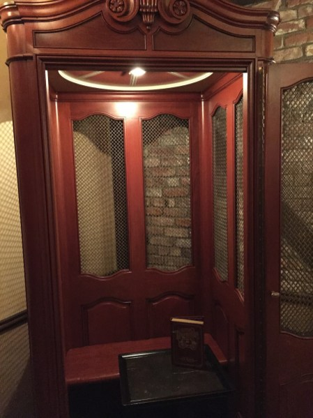 The Old Club 33 Lift-Turned-Seating