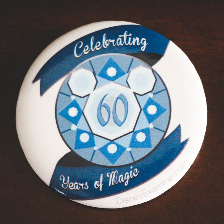 Disneyland 60 Years of Magic Button