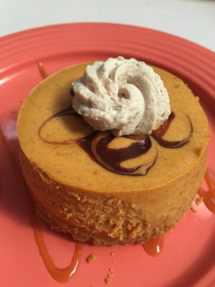 Disneyland Halloween Foods Pumpkin Cheesecake