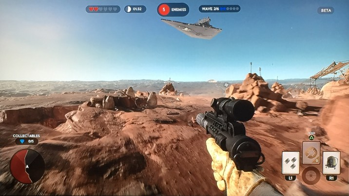 Star Wars Battlefront Beta Review Survival 3