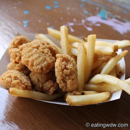 Walt Disney World Chicken Nuggets
