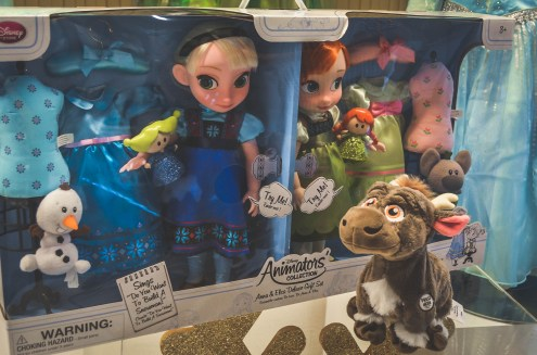 DCP Holiday Gift Guide Frozen Elsa Anna Sven Dolls