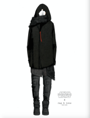 Kylo Ren inspired by RAg & Bone - Photo courtesy of Disney Consumer Products