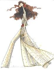 Rey inspired by Diane von Furstenberg - Photo courtesy of Disney Consumer Products
