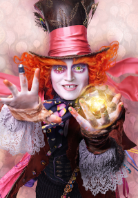 Disney Alice Through The Looking Glass Mad Hatter Character Poster