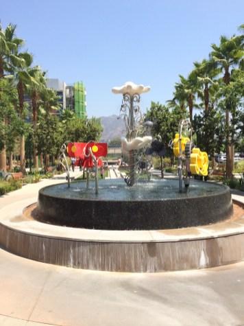Disney Grand Central Creative Campus Disneyexaminer Deconstructed Mickey Mouse Fountain
