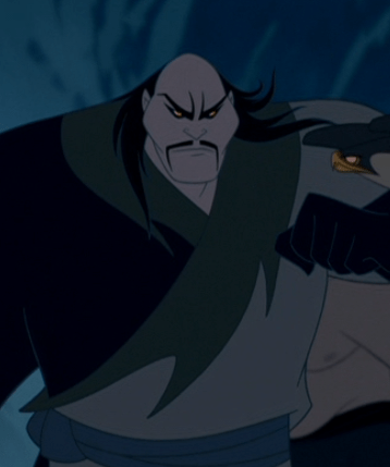 http://fyeahcontroversialcharacters.tumblr.com/post/81680839687/defending-shan-yu-from-mulan