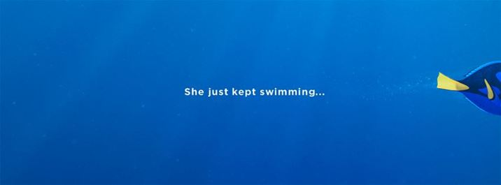 Disney Pixar Finding Dory She Just Kept Swimming