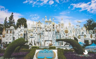 Disneyexaminer Disneyland Winter Wallpapers Its A Small World