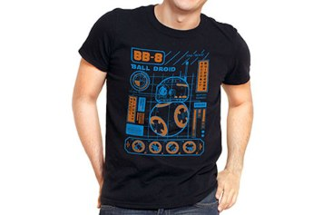 Funko Pop Star Wars T Shirts Bb 8 Blueprint