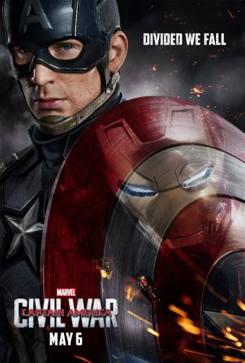 Marvel Captain America Civil War Poster