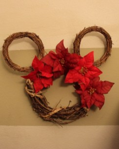Mickey Mouse Wooden Wreath 1