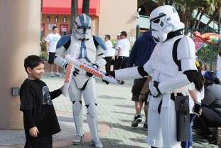 Autism Speaks Walk Angel Stadium 501st Star Wars Legion 7