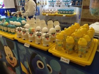 Olaf snow cones and lemonade