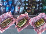 Some fantastic flavors in these Asian hot dogs