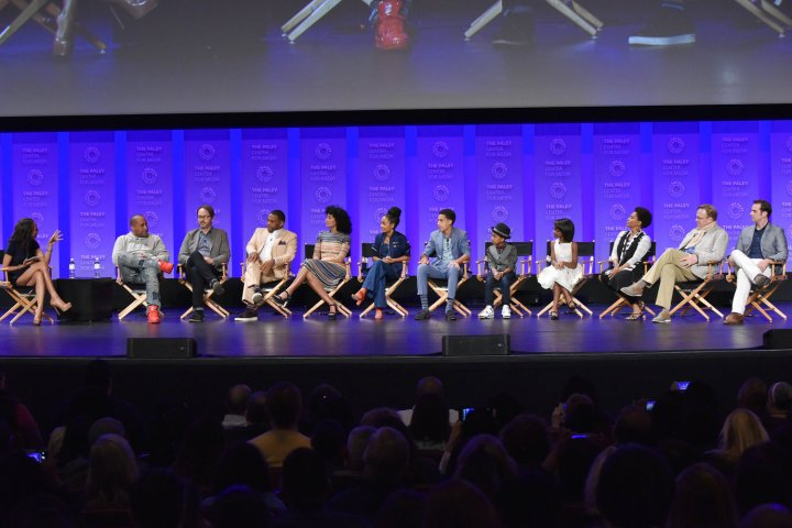 HOLLYWOOD, CA - MARCH 13: Nichelle Turner and the cast and creatives of black-ish at PaleyFest LA 2016 honoring black-ish, presented by The Paley Center for Media, at the Dolby Theatre on March 13, 2016 in Hollywood, California. © Rob Latour for the Paley Center