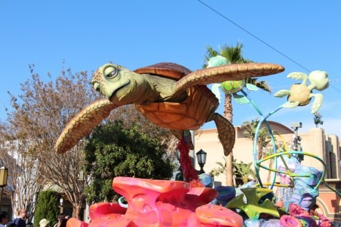 Pixar Play Parade at DCA