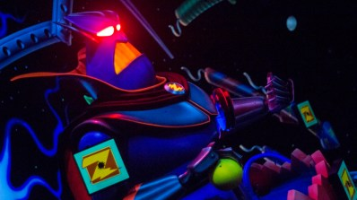 Buzz Lightyear Astro Blasters at Disneyland - Photo courtesy of Matthew Serrano