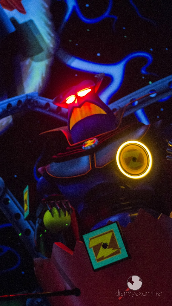 Zurg Buzz Lightyear Astro Blasters Spring Wallpaper Disneyland