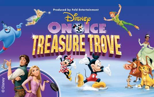 Disney On Ice Treasure Trove Poster