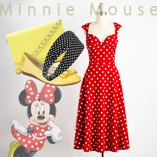 Dapper Day and Disneybound - Minnie Mouse