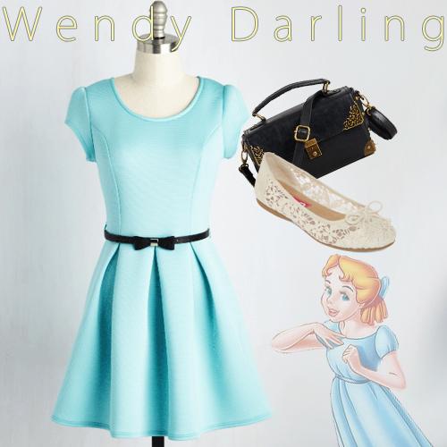Dapper Day and Disneybound - Wendy