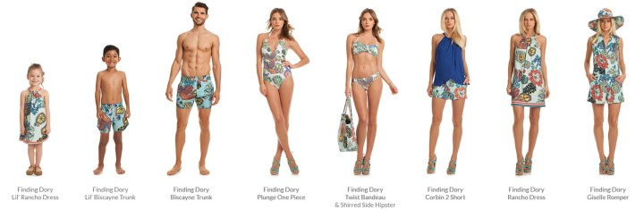 Trina Turk Finding Dory Beach Apparel