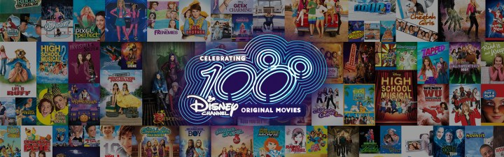 Celebrate 100 Disney Channel Original Movies Banner
