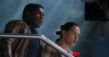 Star Wars The Force Awakens Blu Ray Documentary Secrets Han Solo Kylo Ren Dying Scene 3
