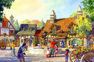 Concept art by Oriental Land Company