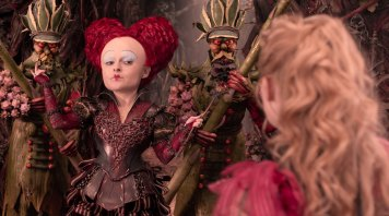 Alice Through the Looking Glass Alice and the Red Queen